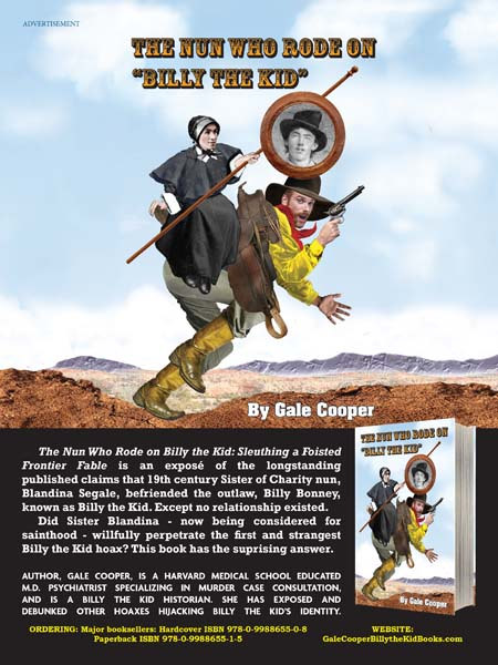 The Nun Who Rode On Billy The Kid AD